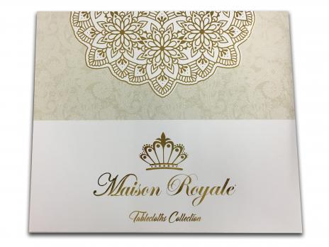 Скатерть Велюр Maison Royale 160x350 Defne V1