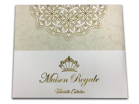 Скатерть Велюр Maison Royale 160x350 Defne V2