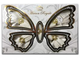 Скатертина KDK Set Maison Royale 160x220+8 psc Cream
