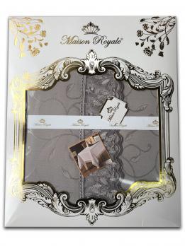Скатертина мереживо Maison Royale 160x220 KDK Grey