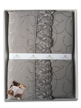 Скатертина мереживо Maison Royale 160x300 KDK Grey
