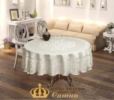 Скатертина  Maison Royale 160 Круг Buta Royale Cream