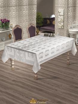 Скатертина  Maison Royale 160x300 Cazibe White