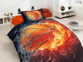 Постельное белье First Choice 3D сатин 160x220 Basketball