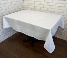 Скатерть Sagol тефлон 160x260 St-060 White