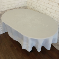 Скатерть Sagol тефлон 160x260 ovale St-060 Cream