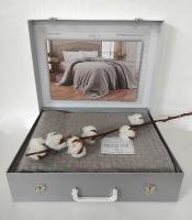 Покрывало Maison D'or Вафельное My Favorite 180x220 Grey