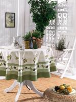 Скатертина Maison D'or 160Q Garden Olive Green