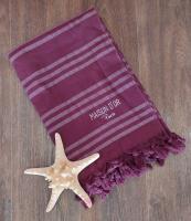 Рушник Maison D'or Violetta 100x200 Burgundy