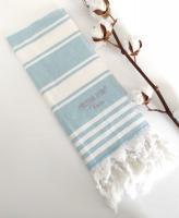 Рушник Maison D'or Primavera 40x70 Turquoise-White