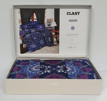 Постельное белье CLASY сатин 200x220 см Agora v1