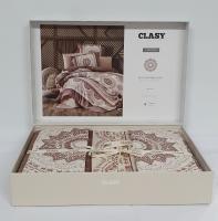 Постельное белье CLASY сатин 200x220 см Carmela v2
