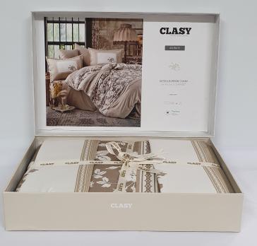 Постельное белье CLASY сатин 200x220 см Alura v1