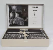 Постельное белье CLASY сатин 200x220 см Nobel v1