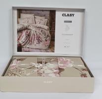 Постельное белье CLASY сатин 200x220 см Rosemary v2