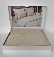 Постільна білизна Maison D'or сатин бамбук 200х220 Pearl Linens Beige
