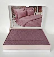 Постільна білизна Maison D'or сатин бамбук 200х220 Pearl Linens Lilac