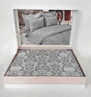 Постільна білизна Maison D'or сатин бамбук 200х220 Pearl Linens Grey