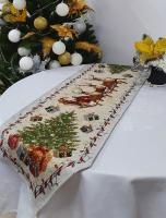 Дорожка Sagol новогодняя 35х185 ST-165