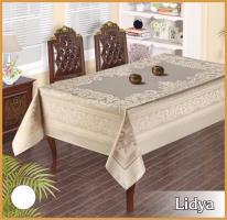 Скатертина тефлон Maison Royale 160*300 Lidya White