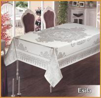 Скатертина тефлон Maison Royale 160*300 Esila White