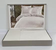 Постельное белье Dantela сатин-жакард 200x220 Parashi Beyaz
