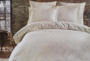 Постельное белье Dantela сатин-жакард 200x220 Parashi Krem