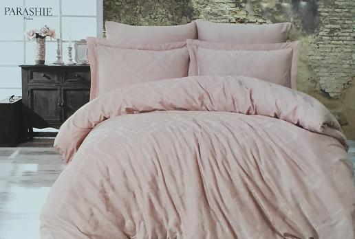 Постельное белье Dantela сатин-жакард 200x220 Parashi Pudra