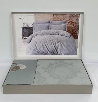 Постельное белье Dantela сатин-жакард 200x220 Louisa Maldiv