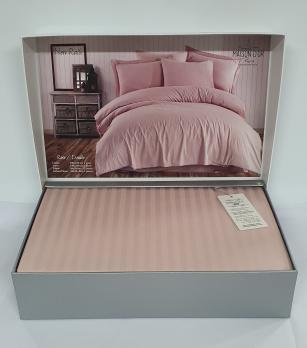 Постельное белье Maison D'or сатин страйп 200х220 Rails Rose