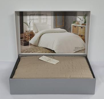 Постельное белье Maison D'or сатин жатка 200х220 New Camile Cotton Beige