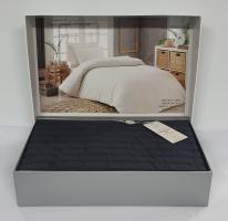 Постельное белье Maison D'or сатин жатка 160х220 New Camile Cotton Grey