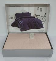 Постельное белье Maison D'or сатин жатка 160х220 New Camile Cotton Rose