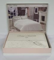 Постельное белье Maison D'or сатин 200х220 Rose Marine Ecru