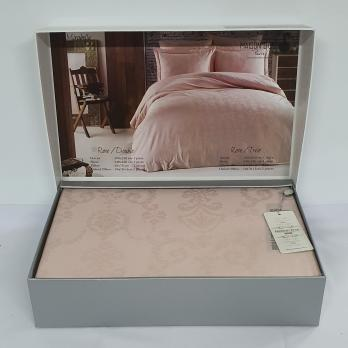 Постільна білизна Maison D'or сатин-жакард 200х220 Mirabella Rose