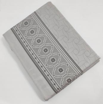 Скатертина тефлонова Sagol 160x300 ovale St-052 Grey