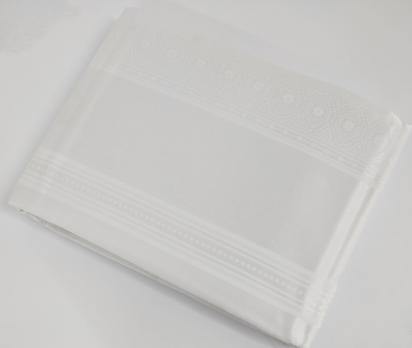 Скатертина тефлонова Sagol 160x260 ovale St-052 White