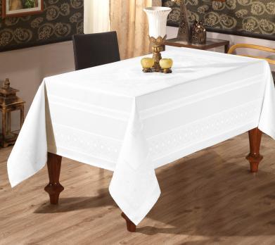 Скатерть Sagol тефлон 160x260 St-052 White