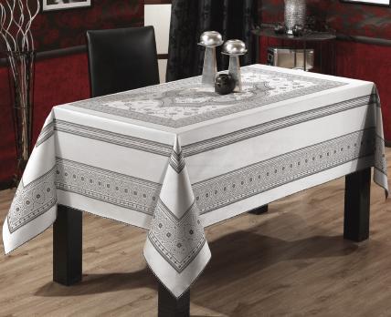 Скатерть Sagol тефлон 160x260 St-052 Grey