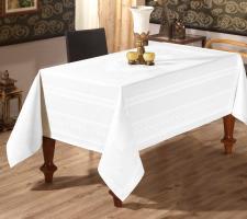 Скатерть Sagol тефлон 160x220 St-052 White