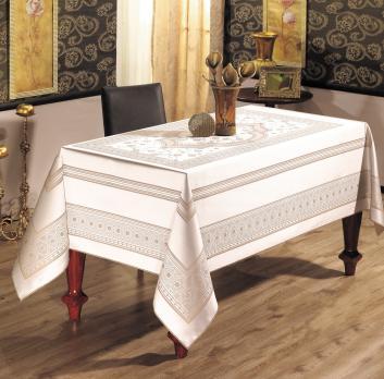 Скатерть Sagol тефлон 160x220 St-052 Cappucino