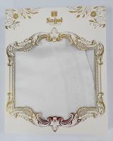 Скатерть Set Sagol тефлон 160x300+8 psc St-052 White
