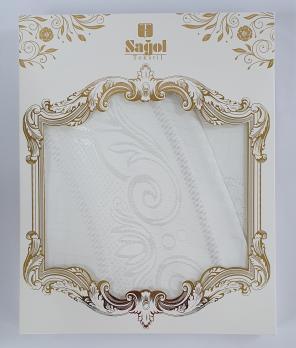 Скатерть Sagol тефлон в коробке 110x160 Sgl-003 White