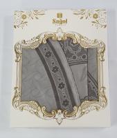 Скатерть Sagol тефлон в коробке 160x220 ovale St-052 Grey