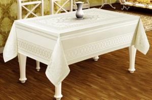 Скатерть Sagol тефлон в коробке 110x160 St-052 Cream