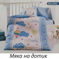 Постельное белье Mintex ранфорс 100x150 см Baloon