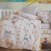 Постельное белье Mintex ранфорс 100x150 см Teddy
