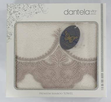Полотенце бамбук в подарочной упаковке 5600 Dantela 50x90