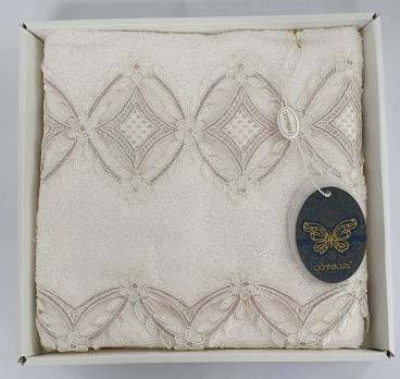Полотенце бамбук в подарочной упаковке 5700 Dantela 50x90