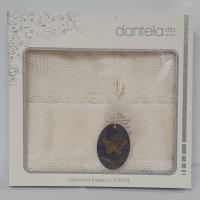 Рушник бамбуковий в подарунковій упаковці 3300 Dantela 50x90